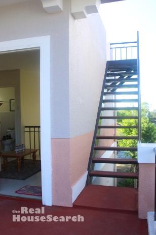 Stairs to Roof Deck San Rafael Estates